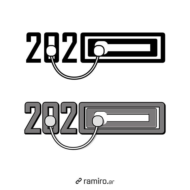 Propuestas de logo para el año 2020